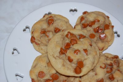 Cinnamon Chip Cookies by Whatever Dee Dee Wants