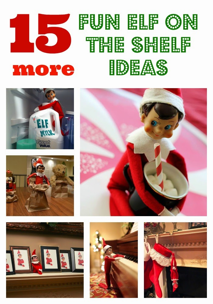 http://www.poofycheeks.com/2013/11/15-more-fun-elf-on-shelf-ideas.html