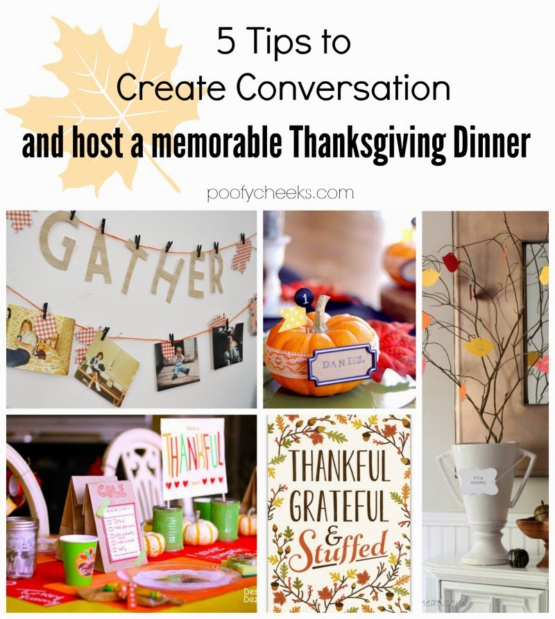 5 Tips to Create Conversation and Host a Memorable Thanksgiving Dinner