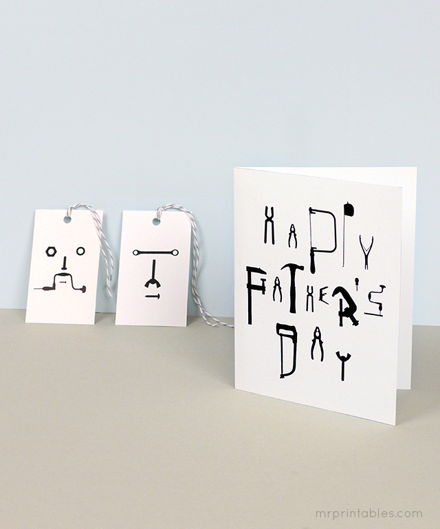 http://www.mrprintables.com/happy-fathers-day-cards-with-gift-tags.html
