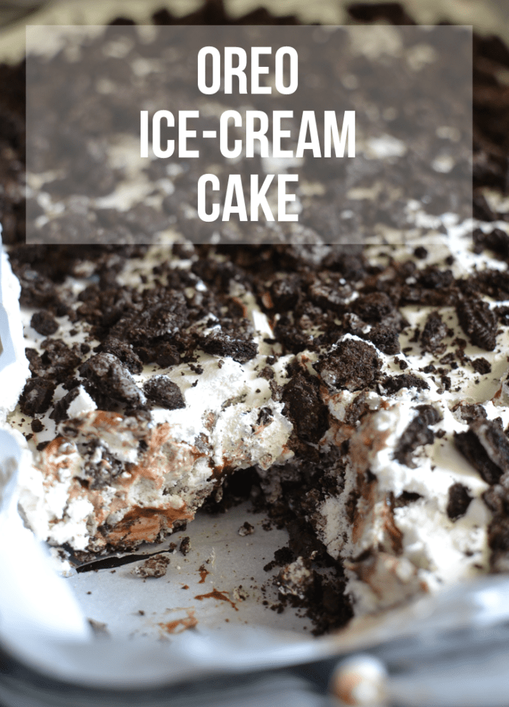 Oreo Ice-Cream Cake Recipe