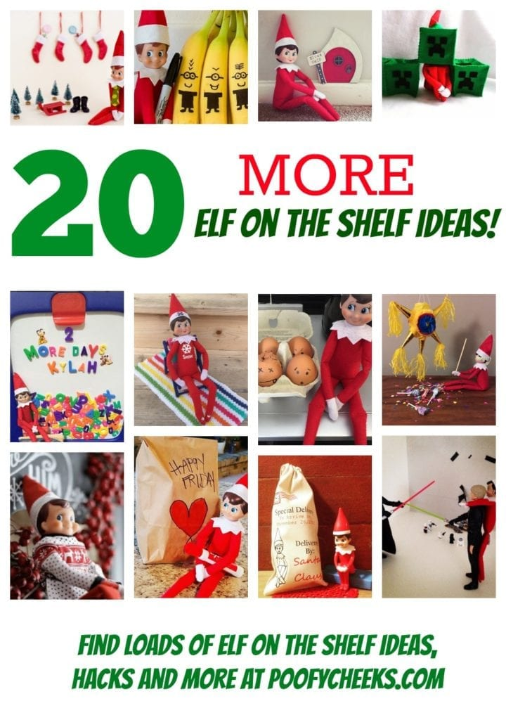 20 MORE Elf on the Shelf Ideas!