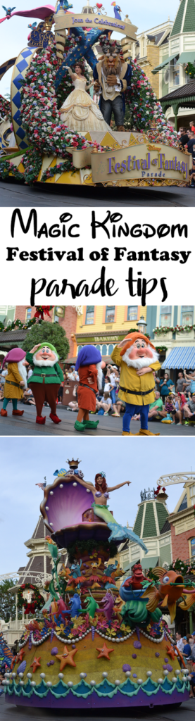 Disney Magic Kingdom Festival of Fantasy Parade Tips and Pictures
