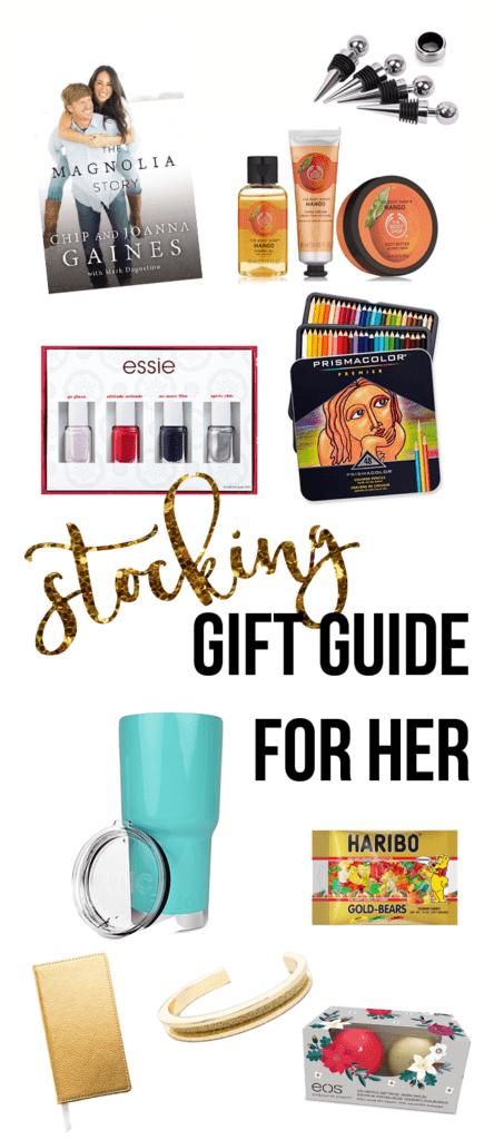 Stocking Stuffer Gift Guide for Her