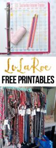 Free LuLaRoe Printables